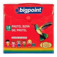 Bigpoint 18 Renk Köşeli Pastel Boya Çantalı 1 Bp742