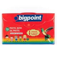 Bigpoint 36 Renk Köşeli Pastel Boya Çantalı 1 Bp744