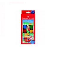 Faber Castell Küçük Hazneli Suluboya 12 Renk 125008