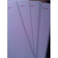 Sistem 1-100 Numaralı Kağıt A4 80 Gr Yevmiye Ve Kebir Defteri İçin Matbaa Baskılı