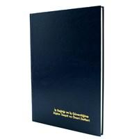 Marka İş Sağlığı Ve Güvenliğine İlişkin Tespit Ve Öneri Defteri 50 Yaprak Otokopili Numaralı Karton Kapaklı
