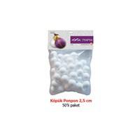 Vincent 50 Adet 2,5 Cm Köpük Top Vınktop2/5Cm-50