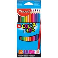 Maped Kuru Boya 12 Renk Color Peps