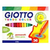 Giotto Turbo Color Keçeli Kalem 36'Lı Kutu 418000