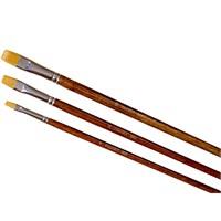 Ponart Yağlıboya Akrilik Yassı Uçlu Altın Toray Fırça 983 - 18