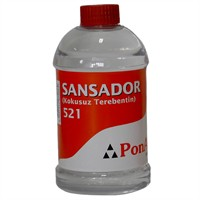 Ponart Sansador (Kokusuz Terebentin) 450 Ml. Pa521