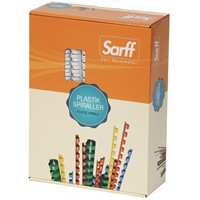 Sarf 8 mm Spiral 15-30 Sayfa 100 Adet / Kutu - 15202012