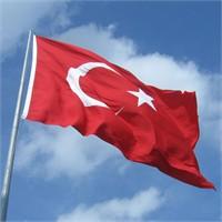 Gönder Bayrak - Türk Bayrağı 12X18 Mt