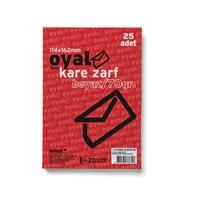 Oyal Kare Zarf Byz 70Gr(Glorya)-25Li