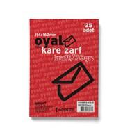 Oyal Kare Zarf Krft 70Gr(Elvan)-25Li