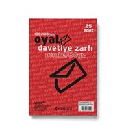 Oyal Buklet Zarf 13X18 Pembe 80Gr Slk 25Li