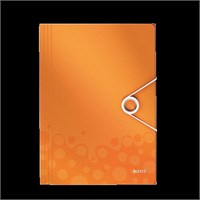 Leitz Active Wow İnce Lastikli Dosya Metalik Turuncu 45990044