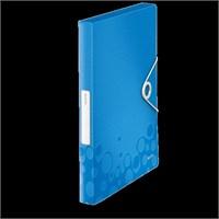 Leitz Active Wow Kalın Lastikli Dosya Metalik Mavi 46290036