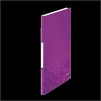 Leitz Active Wow Sunum Dosyası 20 Poşetli Metalik Mor 46310062