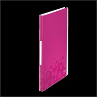 Leitz Active Wow Sunum Dosyası 40 Poşetli Metalik Pembe 46320023