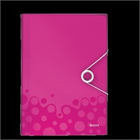 Leitz Active Wow Proje Dosyası Metalik Pembe 45890023