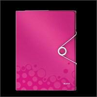 Leitz Active Wow Çok İşlevli Dosya Metalik Pembe 46360023
