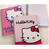 Hello Kitty Seperatörlü Defter 19X26 120 Yaprak Kareli