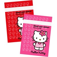 Hello Kitty Güzel Yazı Defteri A4 40 Yaprak