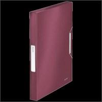Leitz Style Kalın Lastikli Dosya Garnet Kırmızısı 39560028