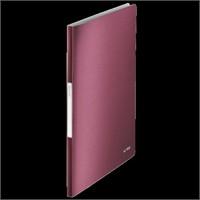 Leitz Style Sunum Dosyası 40 Poşetli Garnet Kırmızısı 39590028