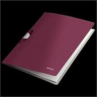 Leitz Style Colorclip Dosya A4 Pp Garnet Kırmızısı 41650028