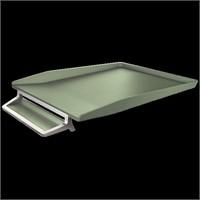 Leitz Style Kalemlikli Gümüş Çerçeveli Evrak Rafı Seramik Yeşili 52560053