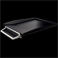 Leitz Style Kalemlikli Gümüş Çerçeveli Evrak Rafı Saten Siyahı 52560094