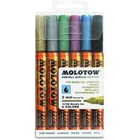 Molotow Akrilik Kalem Seti 6'Lı 200197