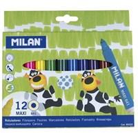 Milan 80020 Maxi Keçeli Kalem-12'Li