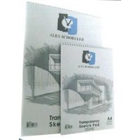 Alex Schoeller Eskiz Blok Spiralli A4 50/55 Gr 30 Yaprak