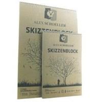 Alex Schoeller Kraft Blok Spiralli 25 X 35 125 Gr 30 Yaprak