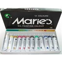 Maries E1381 Yağlı Boya Seti-12'Li