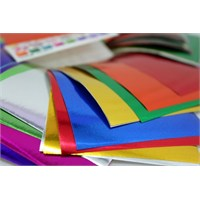 Ticon Metalik Fon Kartonu Karışık Renk 50 X 70-50'Li