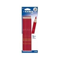 Lyra Pike Kırmızı Kopya Kalemi-12'Li