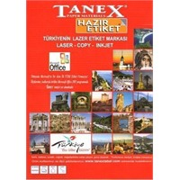 Tanex Tw-2312 Etiket 70 X 70Mm