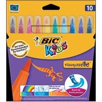 Bic Kids Visa Fırça Uçlu Keçeli Boya Kalemi 10'Lu