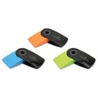 Faber-Castell Sleeve Mini Neon Siyah Silgi 24'lü (5130182470)