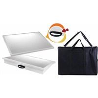 Garanti 50X70 Taşıma Çantalı Işıklı Çizim Masası