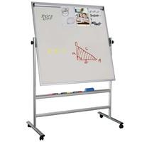 Snapper 120X90 Cm Dönebilen Beyaz, Manyetik Zeminli Kağıt Tutuculu Yazı Tahtası