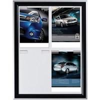 Snapper Paper Board Çerçeve Gri-Siyah Renk 4Xa4