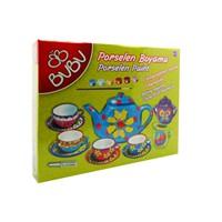 Bu-Bu Porselen Boyama Çay Keyfi Seti 2 (70463) Bubu-Pb0006