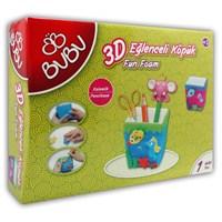 Bu-Bu 3D Eğlenceli Köpük Kalemlik Bubu-Ek0004