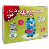 Bu-Bu 3D Eğlenceli Köpük Miyav Kedi Bubu-Ek0006