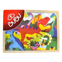 Bu-Bu Ahşap Puzzle 40X30cm 24 Parçalı Bubu-Ap0001