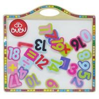 Bu-Bu Manyetik Ahşap Rakam Puzzle Bubu-Ap0003