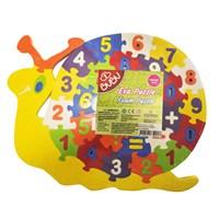 Bu-Bu Eva Puzzle Salyangoz Rakamlar Bubu-Ep0002