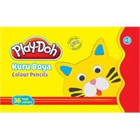 Play-Doh 36 Renk Kuru Boya Teneke Kutu Play-Ku015