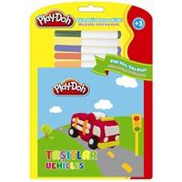 Play-Doh Silinebilir Kitap Küçük Taşıtlar Play-Sk004