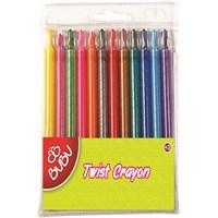 Bu-Bu 12 Renk Twist Crayon Bubu00044
